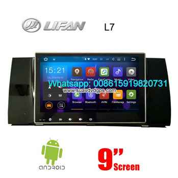 Lifan L7 Lotto Letu audio radio Car android wifi GPS navigation camera
