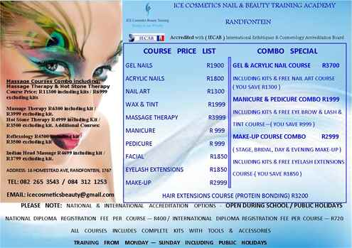 Therapeutic Massage Therapy Training Combo Courses IECAB Accredit