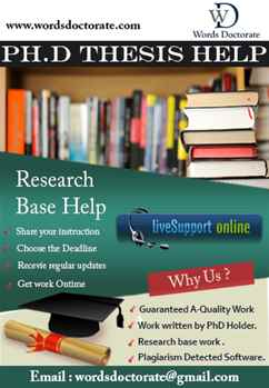 Thesis Writing Services