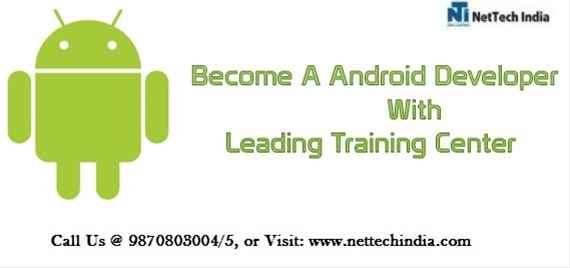 Advanced Android Course  Advanced Android Training  NetTech India