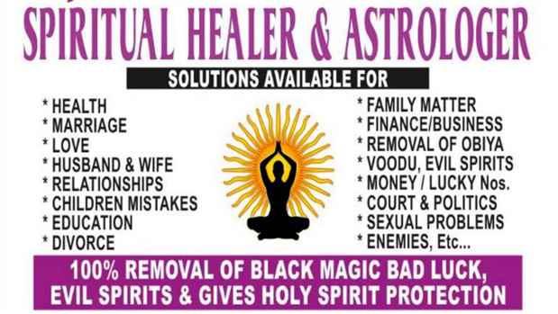 Spiritual healerSpell caster Dr Shama 27795742484