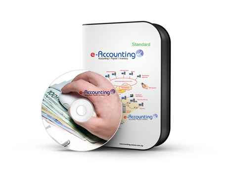 e-Accounting Standard EAS 1.5 Online Accounting Software