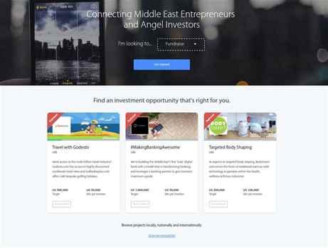 Global Investment Network for entrepreneurs in Palestine.