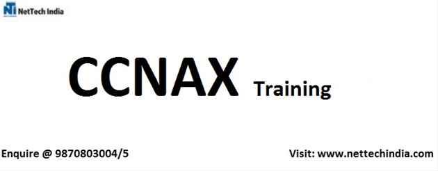 CCNAX Training Institute  CCNAX Certification  NetTech India