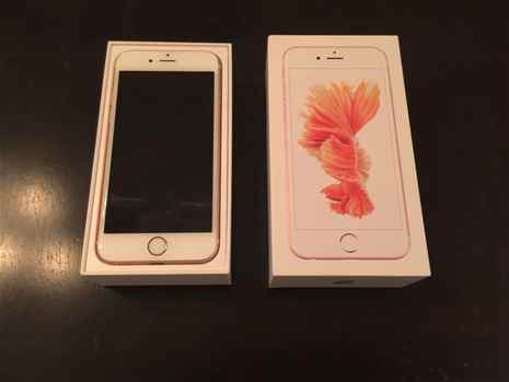 iPhone 6S Rose Gold - 350