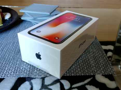 Brand New Unlocked Factory Sealed iPhone X 256GB