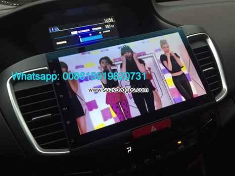Honda Accord audio radio Car android wifi GPS navigation camera