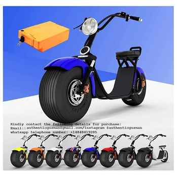 Order Now for the Holidays Harley Citycoco electric scooter Big wheel