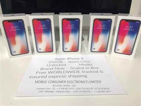 Apple iPhone X 256GB Space Gray Unlocked Smartphone 30 discount