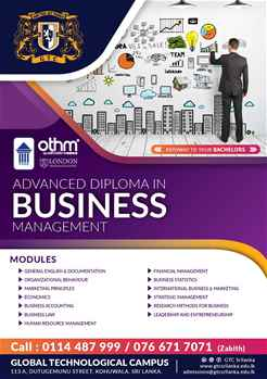 Advanced Diploma in Business Management