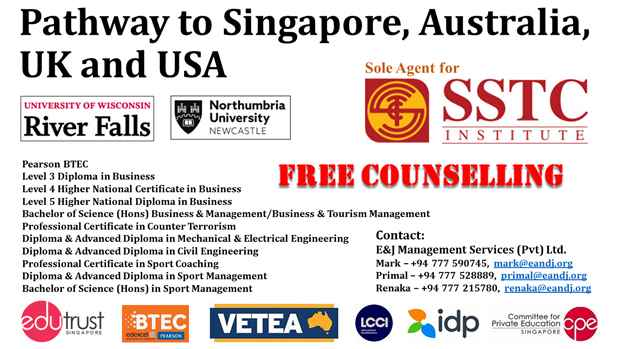 Pathway to Singapore Australia UK and USA