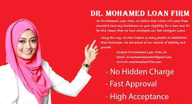 Dr Mohamed Loan Firm Genuine Loan Offer Apply Now