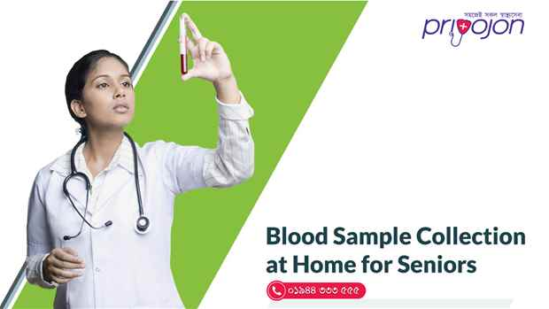 Blood Sample Collection at Home for Seniors