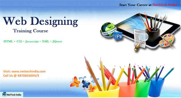 Web Designing Course  Web Designing Classes  NetTech India