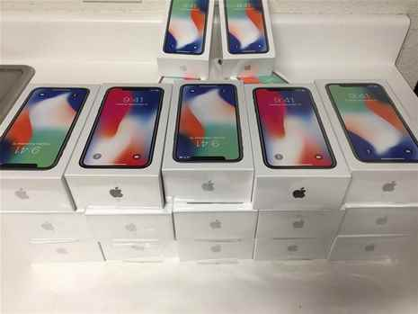 New In Box Sealed Apple iPhone X 64GB 256GB Unlocked Gsm Smartphone