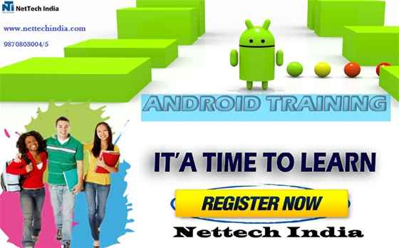 Android Course Training  Android Classes  NetTech India