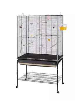 Prendi gabbia per cocorite in comode mensole e cassetto staccabile