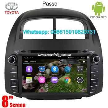 Toyota Passo Car audio radio android GPS navigation camera