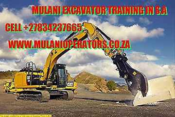 Grader excavator bulldozer accredited operators training school botswana 27729553685
