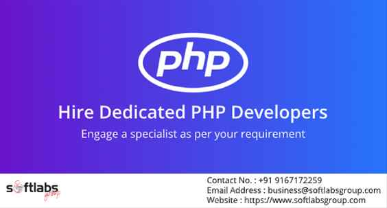 Hire Dedicated PHP Developers In India