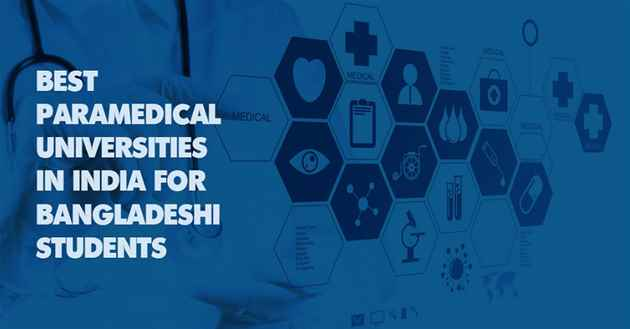 Paramedical Universities in India for Bangladeshi Students