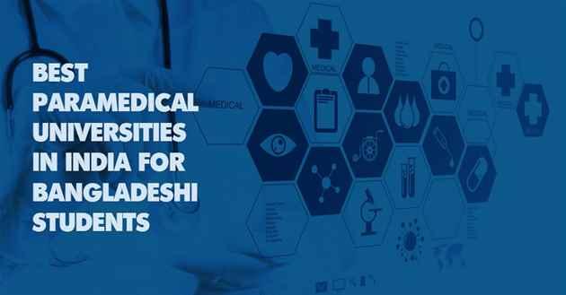 Paramedical Universities in India for Bangladeshi Students