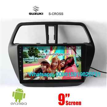 Suzuki S-CROSS Car audio radio android GPS navigation camera