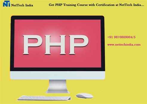 PHP Certification  PHP Training Institute  NetTech India