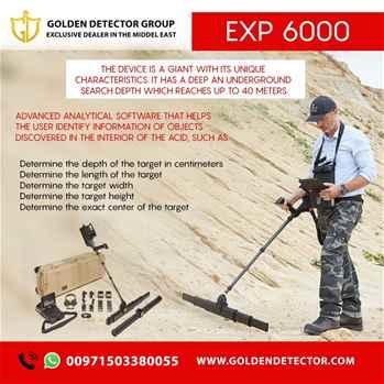OKM EXP 6000 Professional Plus Metal Detector
