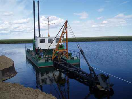 Dredger 800 by Ural Hydromechanical Plant