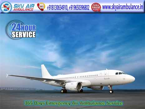 Pick Air Ambulance Service in Sri Nagar with Hassle Free Shifting