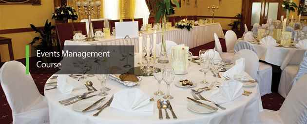 EVENTS MANAGEMENT COURSE