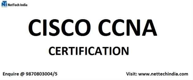 CCNA Training  CCNA Certification Course  NetTech India