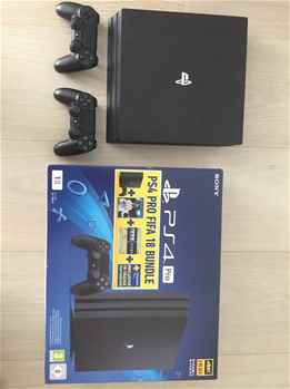 Sony PlayStation 4 Pro 1TB Console Black 4K with Games