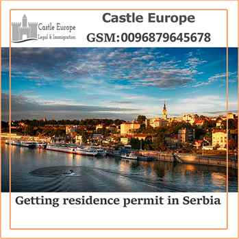 Getting residence permit in Serbia