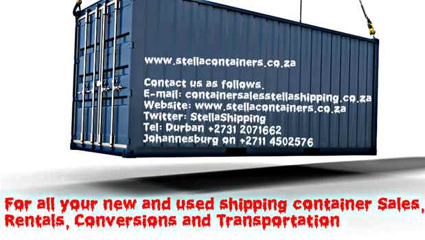 Stella Shipping PTY LTD AKA Stella Containers