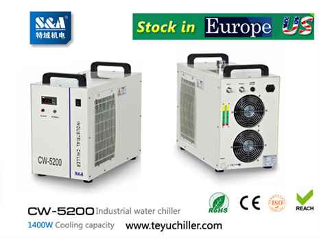 S&A laser air cooled chiller CW-5200 manufacturersupplier