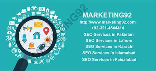 Top Quality SEO Service in Pakistan by Marketing92