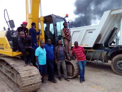 mobile craneexcavator ,dump truck,drill rig,lhd,boiler maker,training school in in namibia 27834237665
