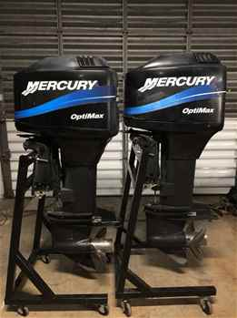 YamahaSuzuki  Mercury Boat Engines Available