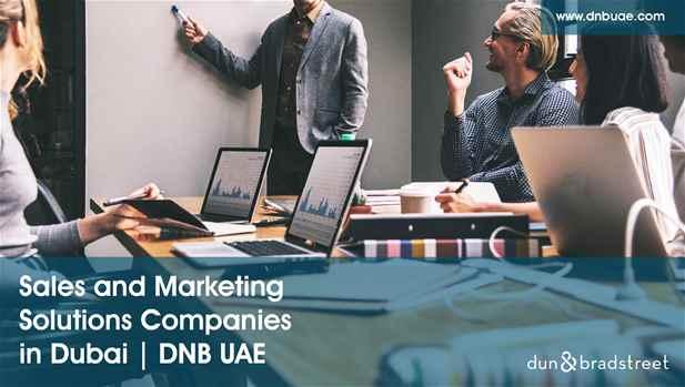 Best Sales & Marketing Solutions Providers in Dubai  DNB