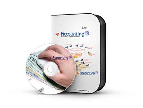 e-Accounting Lite EAL 1.5 Online Accounting Software