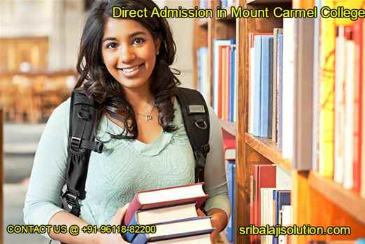 Direct Admission in Mount Carmel College, Bangalore - call 9611882200