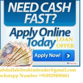 LOAN OFFER TO ALL PEOPLE SEEKING FOR URGENT LOAN