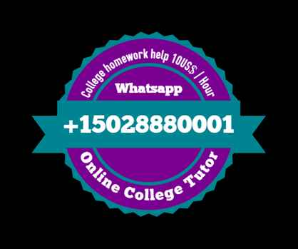 College Homework help, 15028880001 Whatsapp, College Assignment help