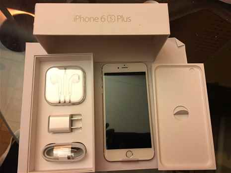 Apple iPhone 6S Plus Latest Model - 128GB - Rose Gold Unlocked Smartphone