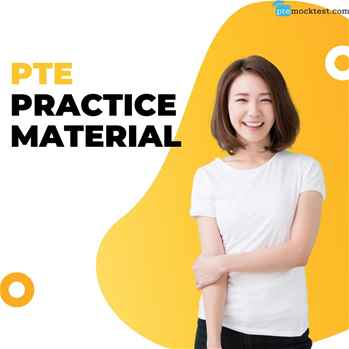 Looking for the PTE practice material?