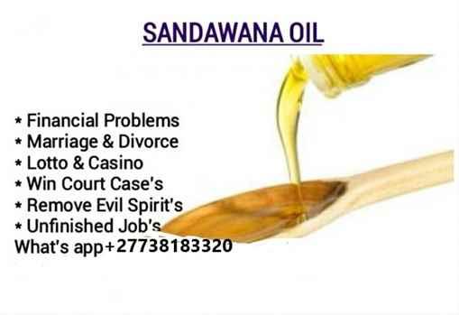 NO.1 Sandawana Oil money power 27738183320