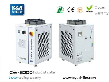 S&A recirculating water chiller CW-6000 AC220110V, 5060Hz