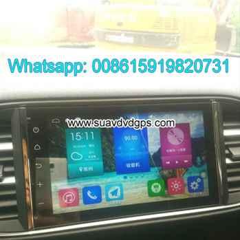 Peugeot 308 308S Android Car Radio GPS WIFI navigation camera